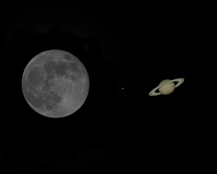 Congiunzione Luna Saturno e meteore: come ammirare lo spettacolo
