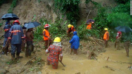 Frane in Bangladesh: oltre cento morti nel sud del paese