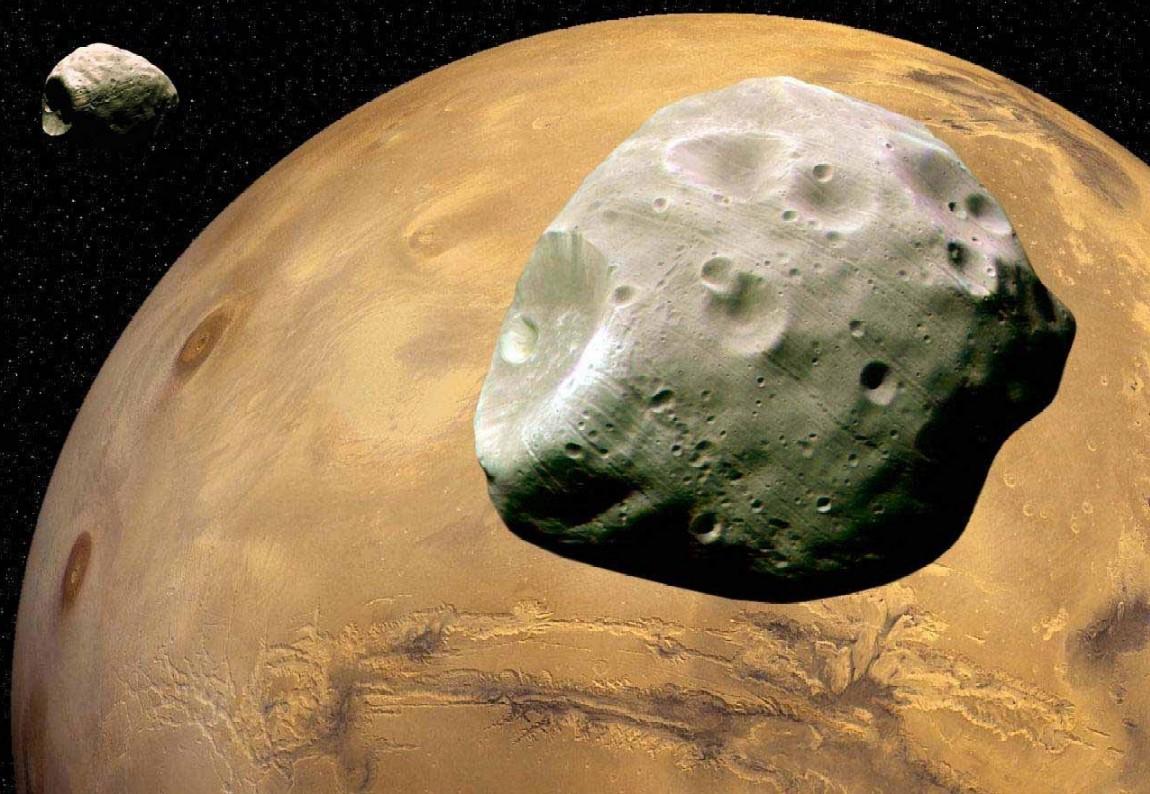 Spazio: una sonda esplorerà le lune di Marte nel 2024