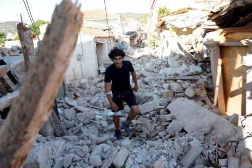 Terremoto Grecia: un morto e decine di feriti, le immagini da Lesbo