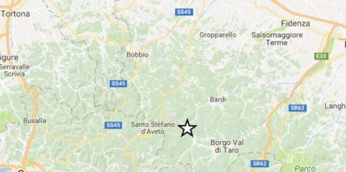 Terremoto Emilia-Romagna: scossa M 3.5 in provincia di Parma, due repliche