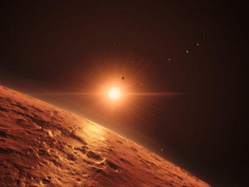 Trappist-1: panspermia tra i pianeti del sistema?