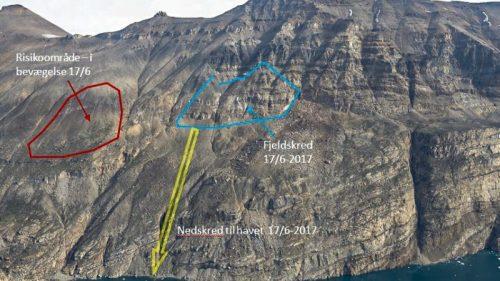 Tsunami Groenlandia: una frana all'origine dell'onda anomala