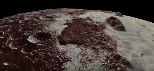 Plutone: la superficie del pianeta nano in un incredibile video della NASA