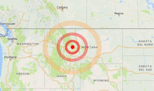 Terremoto Usa: forte scossa di 5.8 gradi in Montana