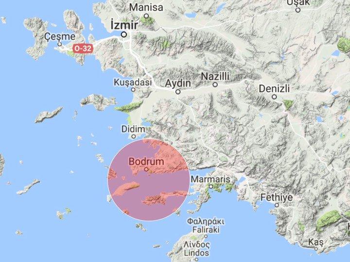 Terremoto M 6.7 tra Turchia e Grecia: mini tsunami, paura a Bodrum