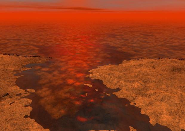 Titano, scoperte gigantesche tempeste di sabbia
