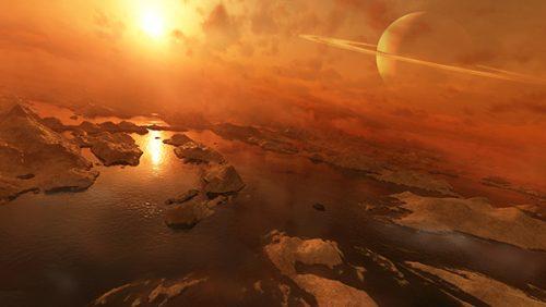 Titano: l'atterraggio delle sonde avverrà sui laghi di metano