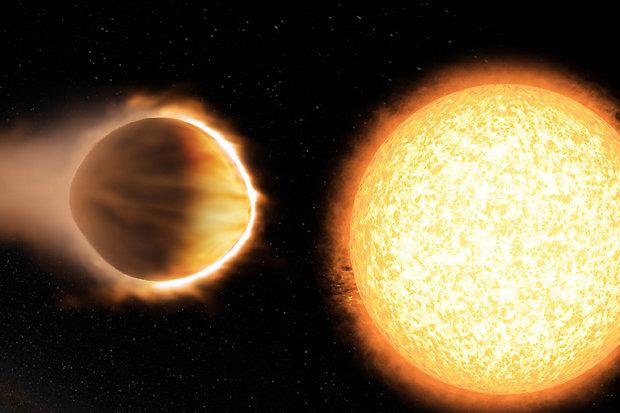 Wasp-121b, il pianeta con un'atmosfera di 2.500 gradi