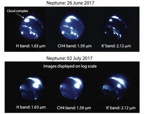 Nettuno: osservata enorme tempesta equatoriale