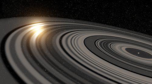 Spazio: enorme pianeta simile a Saturno intorno alla stella Tabby?
