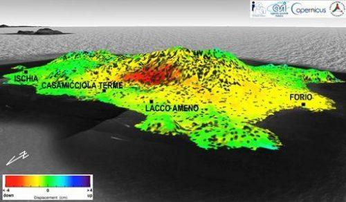 Terremoto Ischia: terreno sprofondato di quattro centimetri