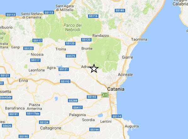 Terremoto in Sicilia: scossa in provincia di Catania