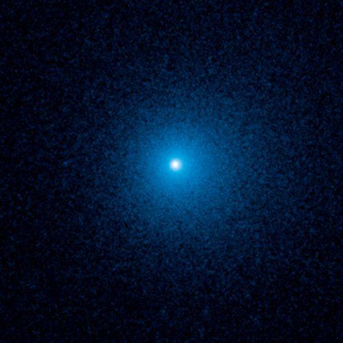 Hubble fotografa una cometa in avvicinamento da distanza record