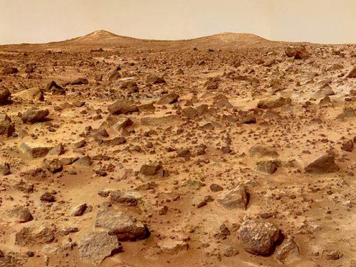 Marte: il sottosuolo dell'equatore nasconde ghiaccio d'acqua