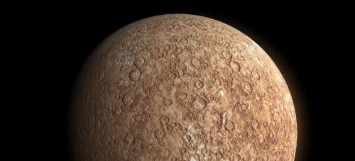 Mercurio ghiaccio d'acqua