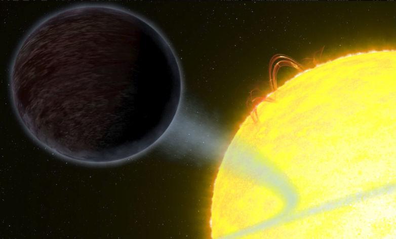 Wasp-12 b pianeta scuro