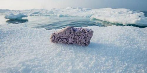 Artico: scoperti due pezzi di polistirolo a pochi chilometri dal Polo Nord