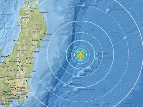 Terremoto Giappone: forte scossa a largo di Fukushima, tremano anche Vanuatu e Nuova Zelanda