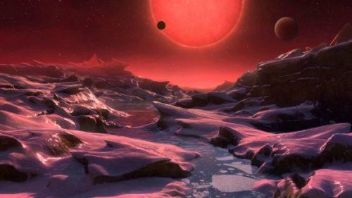 Trappist-1: Hubble scopre probabili tracce di acqua