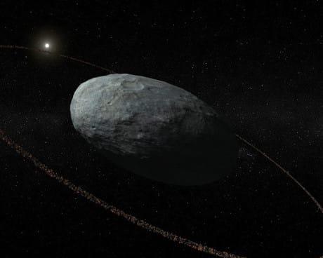 Haumea ha gli anelli, la nuova scoperta sul pianeta nano