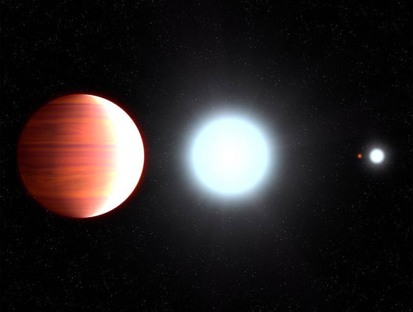 Kepler 13-Ab, il pianeta con nevicate in titanio