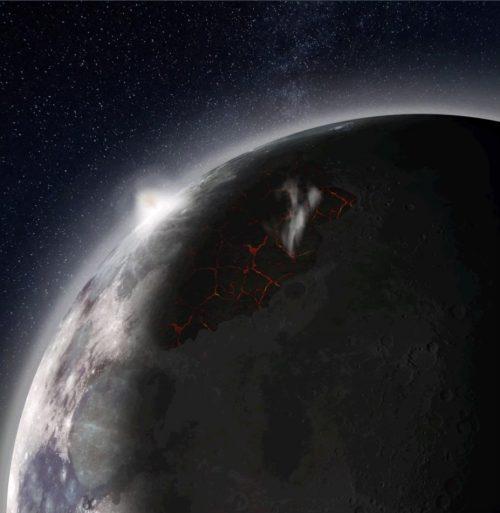 Spazio: l'antica atmosfera della Luna ha lasciato tracce
