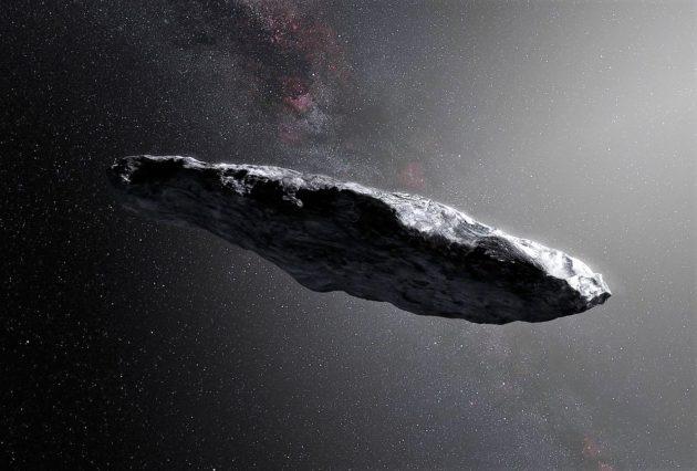 Oumuamua, l'asteroide extrasolare potrebbe essere gigantesco agglomerato di materia oscura