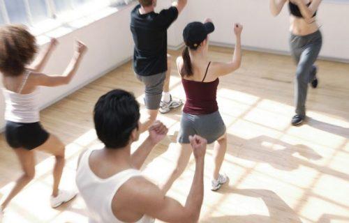 attività fisica in gruppo