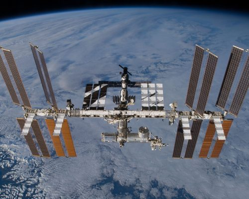 batteri stazione spaziale