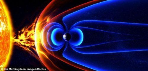 Campo magnetico terrestre: scoperte tracce di una colossale variazione