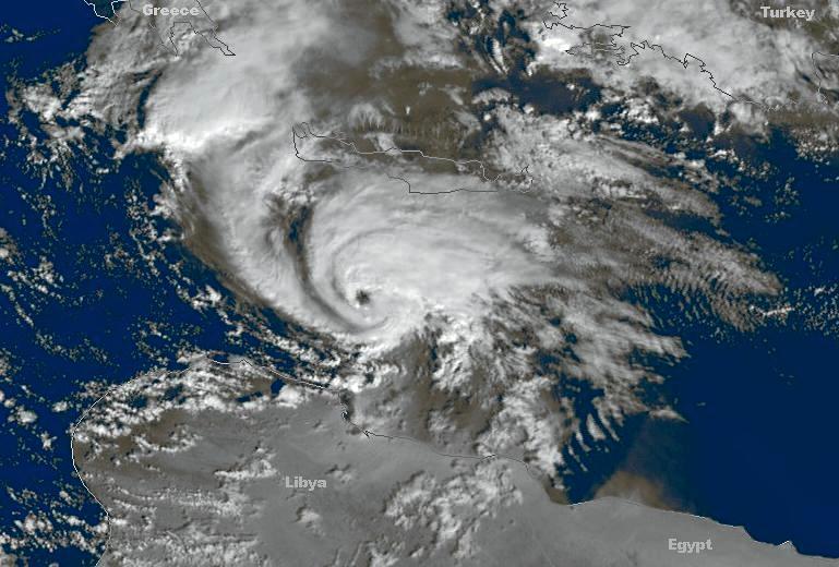 Medicane, la pericolosità degli 'uragani' del Mediterraneo