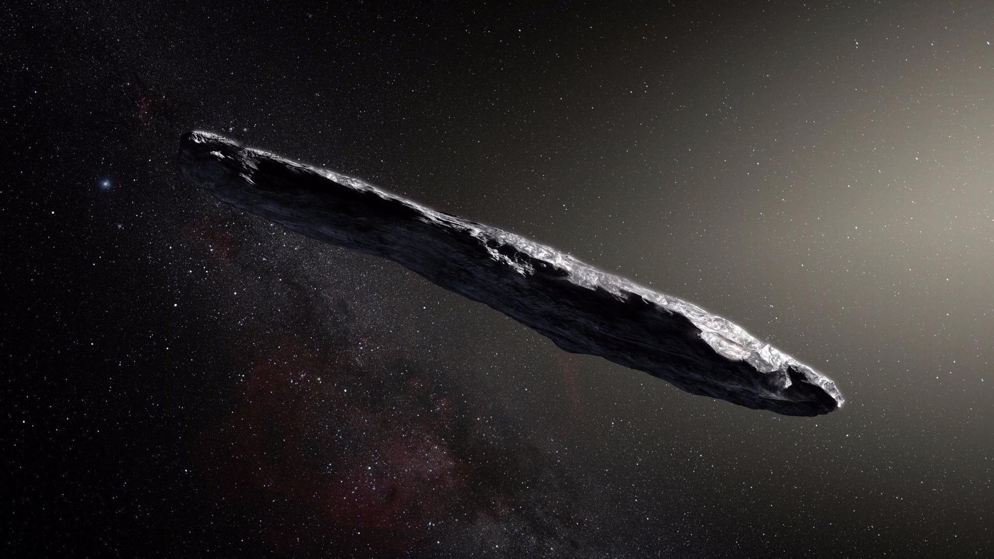 Oumuamua, le caratteristiche del primo oggetto interstellare