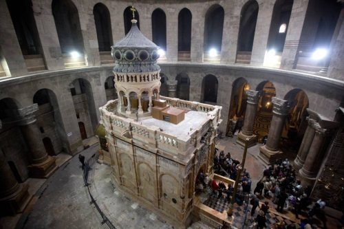 Santo Sepolcro: svelato l'anno di costruzione della Tomba di Gesù
