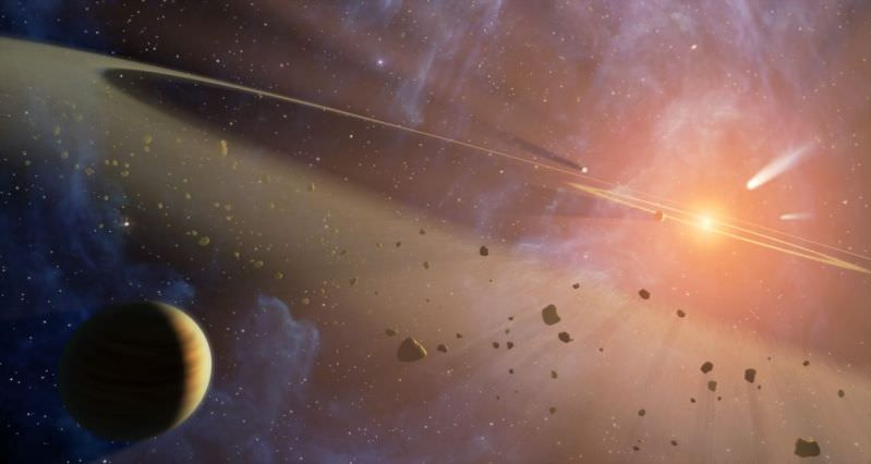 sistema solare corpi celesti