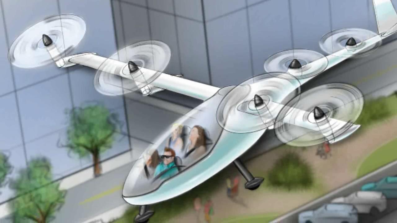 Los Angeles: in arrivo i taxi volanti di Uber Elevate