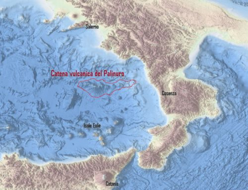 Mar Tirreno: scoperta catena di vulcani sommersi