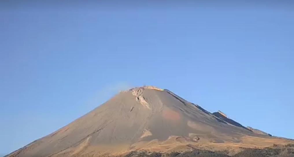 vulcano Popocatépetl