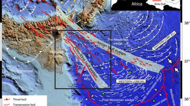 """Scoperte faglie nel Mar Ionio: una """"finestra"""" all'origine dei terremoti nell'area"""