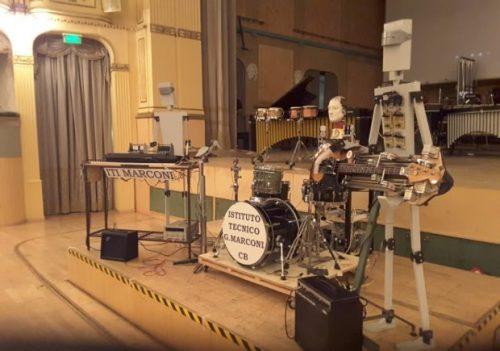 musicisti robot