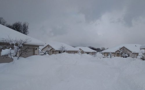 Neve da record in Usa: 86 centimetri in un giorno in Pennsylvania