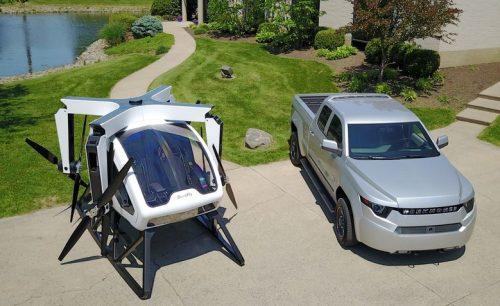 Nasce il drone volante, SureFly porta pilota e un passeggero