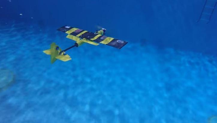 Nasce l'aereo sottomarino, viaggia anche sott'acqua