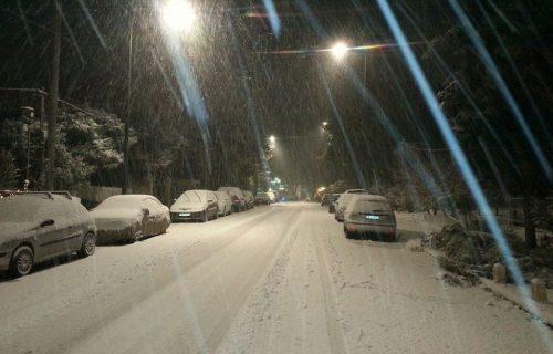 Burian e nevicate in tutta Italia, fiocchi anche in provincia di Roma