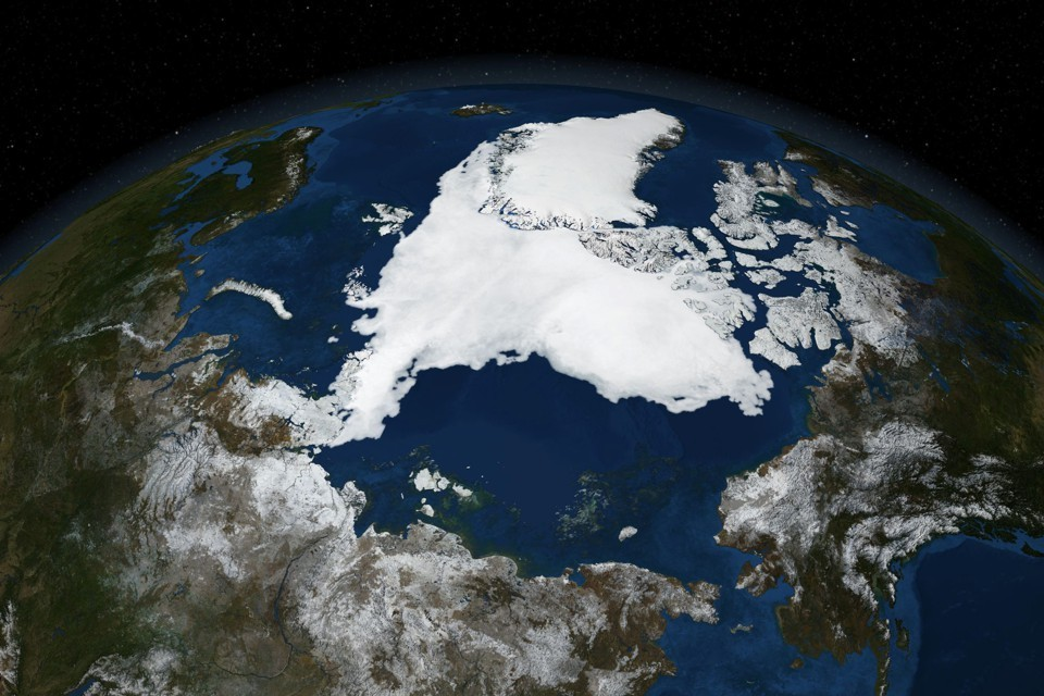 L'Artico sta rilasciando grandi quantità di anidride carbonica nell'atmosfera