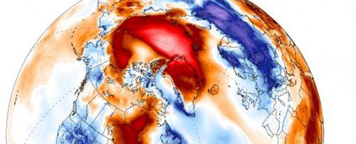 Ondata di caldo al Polo Nord: temperature aumentate di 35 gradi