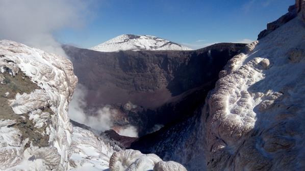 L'evoluzione dell'Etna ricostruita in un modello 3D