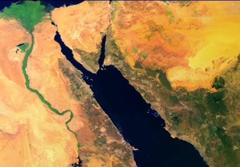 Perché il Mar Rosso e Il Mar Nero si chiamano così