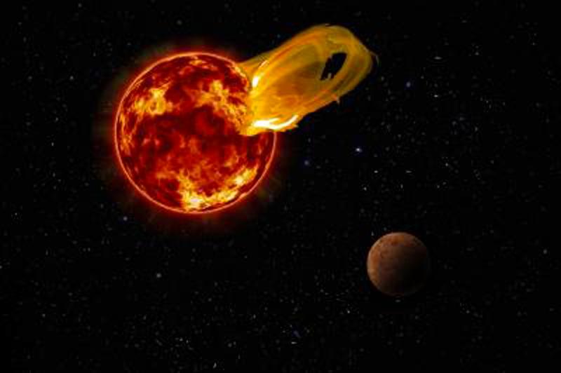Proxima b non è abitabile: pianeta investito da potentissimo flare