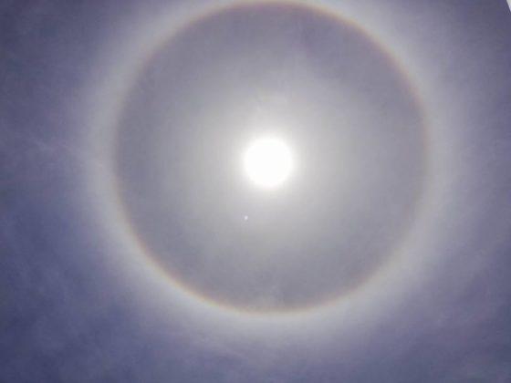 Alone intorno al Sole avvistato al Sud, le immagini